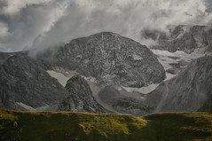 The stony twirl (Дмитрий Овчинников) Tags: mountain fog stone landscape grass rock cloud storm alps explore caucasus tourism nature sky travel outdoor scenic peak high ngc