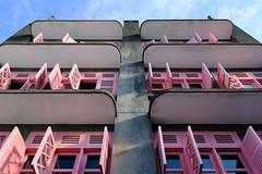 18015217 (felipe bosolito) Tags: windows pink grey sky shutter blinds singapore symmetry fuji xpro2 xf1655 velvia