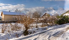 Chemin neigeux (Didier Gozzo) Tags: canon outdoor snow neige winter hiver