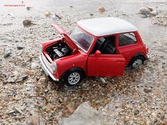 Stuck in the mud (Chris Maroulakis) Tags: mini cooper car legend mud stuck rain athens glyfada fujix30 chris maroulakis 2018 toy burago124 model
