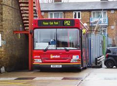 GAL LDP200 - SN51UAO - PM PECKHAM BUS GARAGE - THUR 15TH MAR 2018 (Bexleybus) Tags: goahead go ahead london pm peckham bus garage blackpool road adl dennis dart ldp200 sn51uao tfl route p12