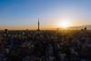 Ueno Sunrise (OzGFK) Tags: asia japan tokyo ueno skytree skytower sunrise nikon d800 sigma24mmart cityscape landscape morning hotellifetree
