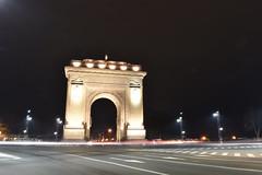 Arcul de Triumf (mihaipăcurețu) Tags: bucharest bucuresti bucurești bukarest romania românia rumänien arcul de triumf square circus road monument city hauptstadt stadt piata light night noapte