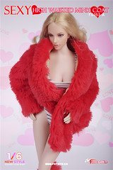 FIRE GIRL FG-053 High Waisted Mink Coat - 53A5 (Lord Dragon 龍王爺) Tags: 16scale 12inscale onesixthscale actionfigure doll hot toys firegirl