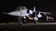 SEPECAT Jaguar T.2A I XX833 I QinetiQ (MarkYoud) Tags: raf cosford threshold aero nightshoot sepecat jaguar miltary fast jet t2a xx833