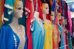 Caftans for Sale (meg21210) Tags: souk caftans caftan morocco fes medina vendor shop feselbali