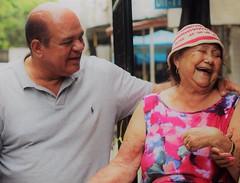 """Caminhar ao lado dessa pessoa é ganhar """"anos luz"""": dona Chiquinha, 73 anos, a esposa do falecido Duda, um dos fundadores da comunidade do Terreirão, situada no Recreio dos Bandeirantes. Mais um local onde parei para ouvir as reivindicações dos moradores."""