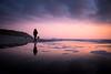 Abends am Strand (Chris Buhr) Tags: strand landschaft landscape winter spiegelung reflexion sonnenuntergang sunset lila leica beach sylt weststrand rotes kliff
