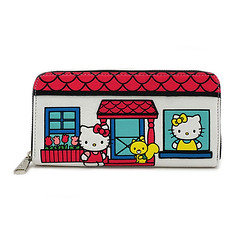 Kitty Family House Ladies Wallet (mywowstuff) Tags: gifts gadgets cool family friends funny shopping men women kids home