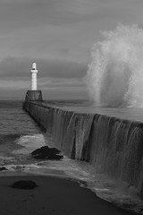 IMG_5386 (monika.carrie) Tags: monikacarrie aberdeen scotland waves northsea