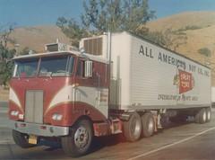 """Peterbilt COE """"Nuts"""": SH Hinson (PAcarhauler) Tags: peterbilt pete semi tractor trailer truck"""