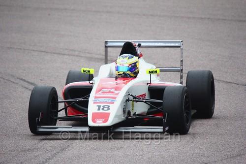 Hampus Ericsson in British F4 pre-season testing 2018