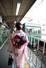 134 (雨天情歌) Tags: きもの 着物 旅遊 旅行 日本 叡山电鉄 叡电