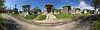 Metairie Cemetery (davidwilliamreed) Tags: cemetery graves tombs mausoleums graveyard pano panorama iphone