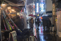ENJOY THE RAINY NIGHT (ajpscs) Tags: ajpscs japan nippon 日本 japanese 東京 tokyo city people ニコン nikon d750 tokyostreetphotography streetphotography street seasonchange winter fuyu ふゆ 冬 2018 shitamachi night nightshot tokyonight nightphotography citylights omise 店 tokyoinsomnia nightview lights hikari 光 dayfadesandnightcomesalive alley othersideoftokyo strangers urbannight attheendoftheday urban walksoflife coldoutsidewarminside izakaya 居酒屋 taxiiswaiting taxi rain ame 雨 雨の日 whenitrains 傘 badweather whentheraincomes cityrain tokyorain wetnight rainynight rainingmen nightover enjoyingtherainynight