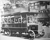 """""""Fifth Avenue Coach Company Bus No. 321"""" Photograph (about 1920), New York Transit Museum, Brooklyn, New York City (jag9889) Tags: 2016 20160612 5thavenue anniversary bw blackandwhite brooklyn bus doubledecker downtownbrooklyn fifthavenue indoor kingscounty mta manhattan metropolitantransportationauthority midtown monochrome museum ny nyc nytm newyork newyorkcity newyorktransitmuseum people photograph road transit transportation usa unitedstates unitedstatesofamerica jag9889"""