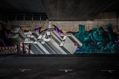 Beast (Melissa Maples) Tags: münchen munich deutschland germany europe nikon d3300 ニコン 尼康 sigma hsm 1020mm f456 1020mmf456 winter graffiti streetart art streetartgallery donnersbergerbrücke beast text