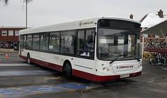 Compass Bus MX05 OTC Barnham Station 18/3/18 (jmupton2000) Tags: mx05otc transbus alexander dennis enviro 300 original compass bus travel worthing sussex rail railway replacement