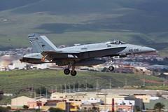 Las Palmas, Gran Canaria, 24th February 2018 (_Illusion450_) Tags: f18 mcdonnell douglas fa18a hornet spanish air force fuerza aerea española gando base las palmas airport gran canaria c1580