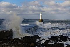 DSC04640 (LezFoto) Tags: waves southbreakwaterpier aberdeenharbour aberdeen scotland unitedkingdom sonydigitalcompactcamera rx100iii rx100m3 sony dscrx100m3 cybershot sonyimaging sonyrx100m3 compactcamera pointandshoot