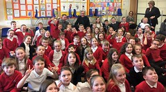 Visiting Windygoul Primary School