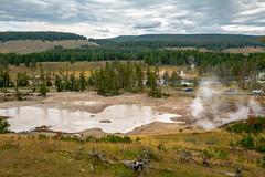 2017 USA Mountain States - Yellowstone NP, WY / Sulphur Caldron, Mud Volcano (dconvertini) Tags: sulphur caldron mud volcano yellowstonenationalpark wyoming usa