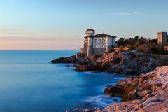Castello del Boccale al tramonto (Mancini photography) Tags: castle livorno tuscany italy seaside landscape lights view magic atmosphere