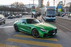 AMG GTR (Nico K. Photography) Tags: mercedesbenz amg gtr green rare supercars nicokphotography switzerland zürich