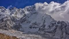 Himalayan Crestline (Timothy Hastings) Tags: himalayas nepal mount everest trek tallest heights sherpa yeti legend