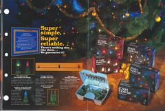 GE Super Set Sales Flyer 1980 (JeffCarter629) Tags: generalelectricchristmas gechristmaslights gechristmas ge generalelectric generalelectricchristmaslights superset merrymidget 1980s