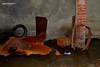 ossa (riccardo nassisi) Tags: rust rottame rusty relitto ruggine ruins rottami scrap scrapyard fornace ossario fiat auto abandoned abbandonata abbandonato epave car voiture