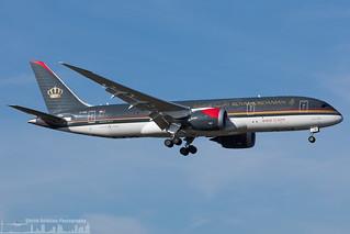 JY-BAB Royal Jordanian Boeing 787-8 Dreamliner (LHR - EGLL - London Heathrow)