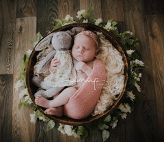 Sophie <3 (Samantha Nicol Art Photography) Tags: baby newborn photographer photography beith north ayrshire samantha nicol studio props girl natural light looks like film bunny teddy