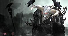 CODE-5 BOGATYR Helmet V.0.01 (Code-5) Tags: dark warrior helmet mask themask silver gold black metal heavymetal steel code5 code 5 kellylingus bogatyr gor master demon satan horn head mesh iron