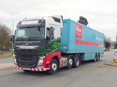 KX66NCD (47604) Tags: kx66ncd h4738 eddie stobart nicola anne a5 weedon volvo lorry truck hgv artic argos