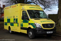 Northern Ireland Ambulance Service / IGZ 3253 / Mercedes Benz Sprinter / Emergency Ambulance (Nick 999) Tags: northern ireland ambulance service igz 3253 mercedes benz sprinter emergency nias blue lights sirens was northernirelandambulanceservice igz3253 mercedesbenzsprinter emergencyambulance