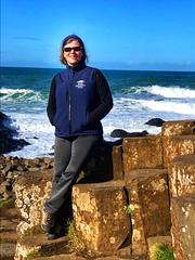 Nancy D Brown Giant's Causeway, Northern Ireland (Nancy D. Brown) Tags: northernireland giantscauseway nancydbrown irishnationalstud whitesierra guidelinesunglasses ireland nationaltrust