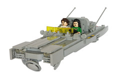 Dodge Skycharger EX-5000 - Front (T.Oechsner) Tags: lego spacemen classicspace minifig ncs