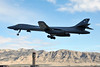 Tower and Power (Rich Snyder--Jetarazzi Photography) Tags: usairforce usaf airforce globalstrikecommand afgsc rockwell b1 b1b lancer 860097 9thbs bats 7thbw dy takeoff departure departing nellisafb lsv klsv lasvegas nevada nv airplane aircraft jet plane bomber bone redflag181