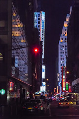 Night in New York (Oleg.A) Tags: square usa newyork manhattan street city outdoor evening orange colorful skyscraper yellow night metropolitain architecture megalopolis style timessquare cityscape metro nyc america outdoors town