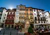 Bilbao - Vacanze 2017 (auredeso) Tags: bilbao spagna nikon d7100 nikond7100 tokina tokina1116 case colori piazza square place vacanze