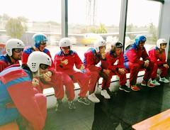 Bautismo vuelo #TeamClavería túnel de viento MadridFly 21