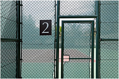 ras al khaimah 34 (beauty of all things) Tags: vae uae rasalkhaimah sports sport tennis 2 lettersfromthepeople fences worldbehindfences