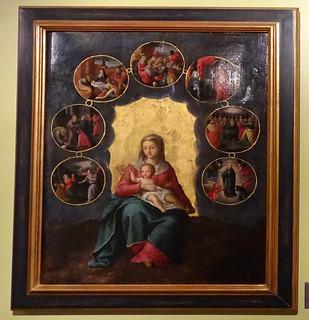 Virgen con Niño Museo del Castillo de Javier Navarra