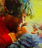 a mother's love (Bill Sargent) Tags: mother child sin love digitalpainting painterly