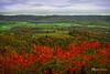 Valley View (James Korringa) Tags: blueridgeparkway virginia red valley autumn fall color