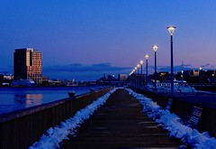 Blue hour by the pier (ole_G) Tags: