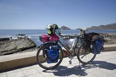 Yonder in Mazatláln (speed6ump) Tags: pan american highway tour bicycle touring mexico sinaloa mazatlan mazatlán cycling surly long haul trucker yonder esmeralda shitkicker