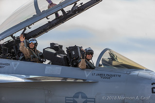 Boeing F/A-18F Super Hornet of VX-9