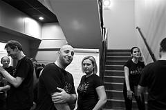 Décontraction apparente (mifranc91) Tags: blackandwhite bw concert coulisses d700 lumières monochrome nikon noiretblanc scène spectacle troupe zicos